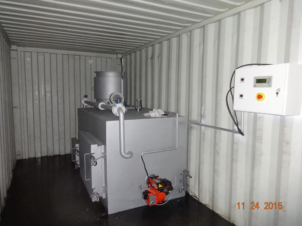 Containerized Incinerator Mobile Incinerator Incinerator